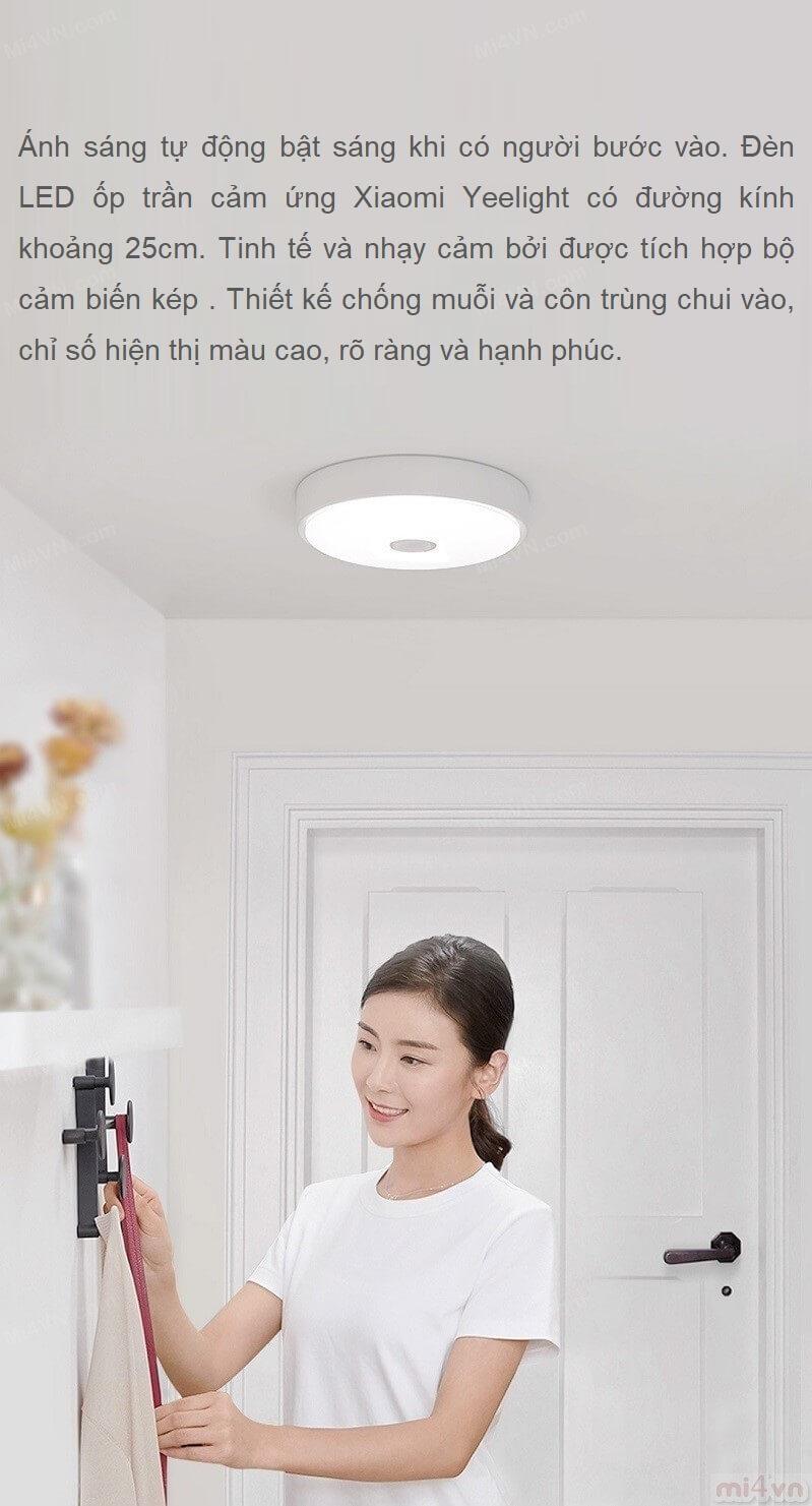 Đ 232 N Led ốp Trần Cảm ứng Xiaomi Yeelight
