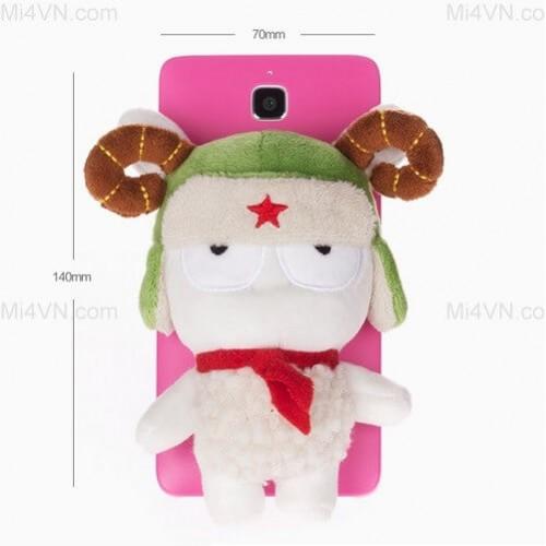 Ốp lưng Thỏ bông điện thoại Mi4