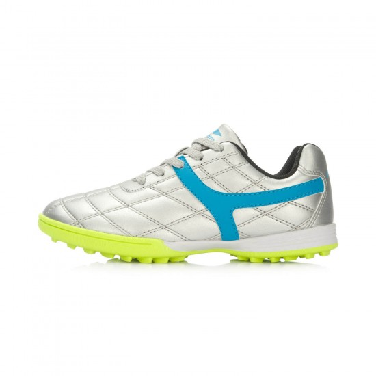 Giày bóng đá trẻ em LiNing TF màu Xám